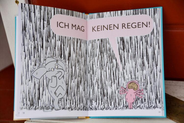 Schweinchen mag keinen Regen