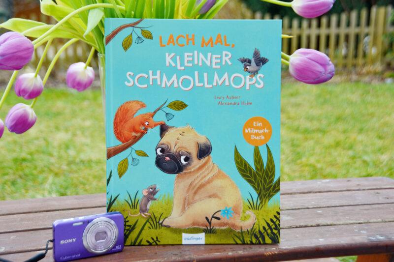 Mitmachbuch: Lach mal, kleiner Schmollmops – Kannst du helfen?