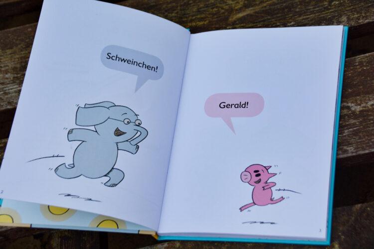 Elefant Gerald und Schweinchen