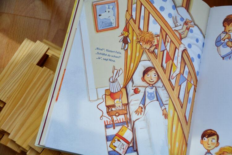 Babysitting Jule Bilderbuch