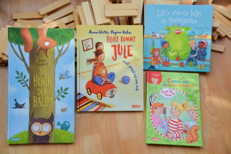 Bilderbücher Carlsen Verlag Das kleine WIR Conni Baum Jule