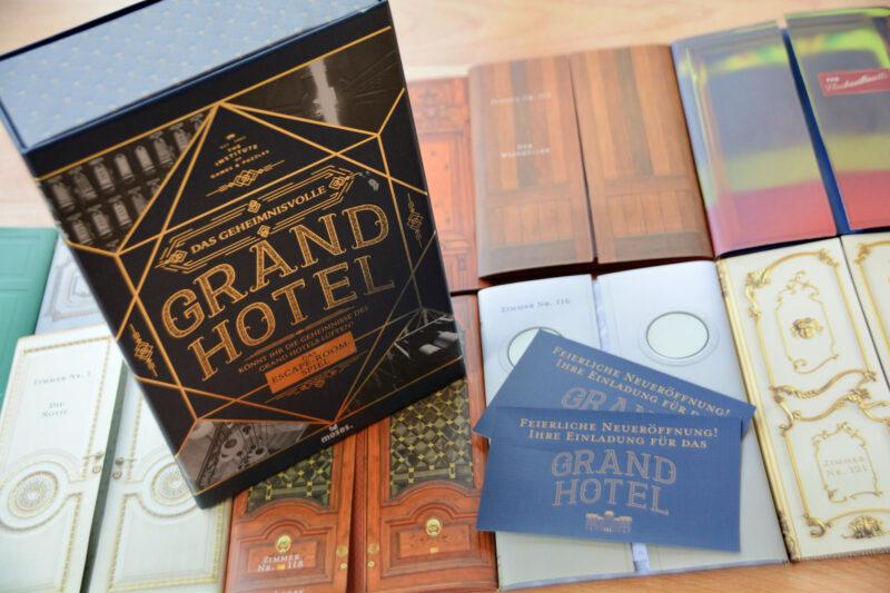 Das geheimnisvolle Grand Hotel – Das Escape-Room-Spiel