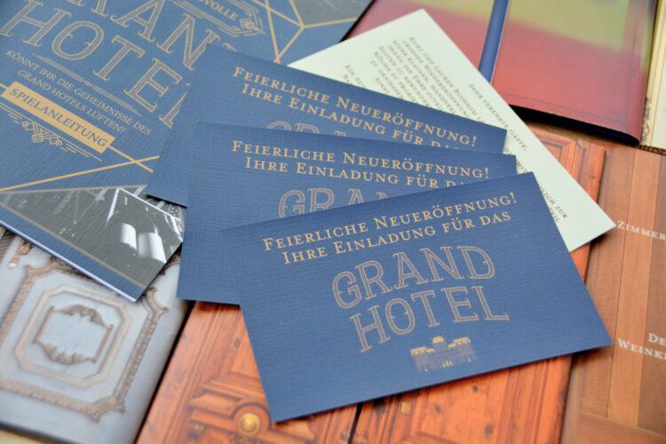 Einladung Grand Hotel