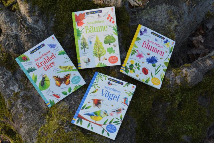 Naturführer Vögel, Bäume, Krabbeltiere und Blumen