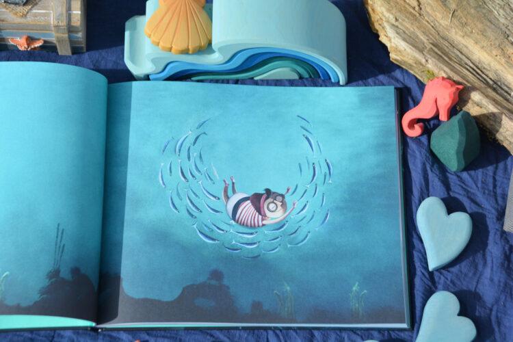 Seesucht Jonas im Meer