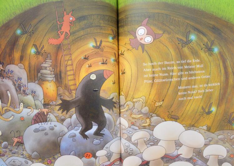 Eichhörnchen Schutz Kinderbuch