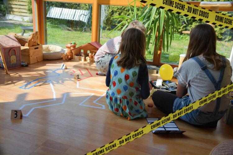 Kindergeburtstag Die drei Fragezeichen