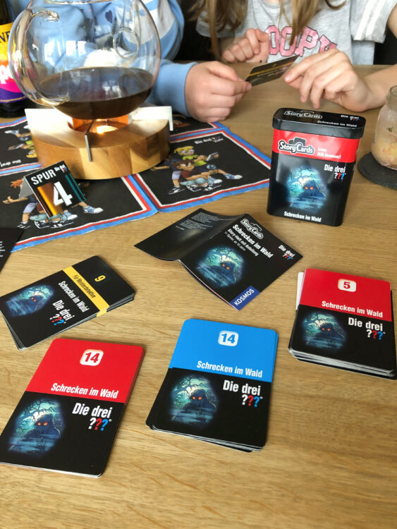Story Cards drei ??? Rätsel
