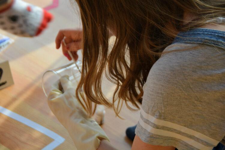 Fingerabdruckpulver Fingerabdrücke sichern