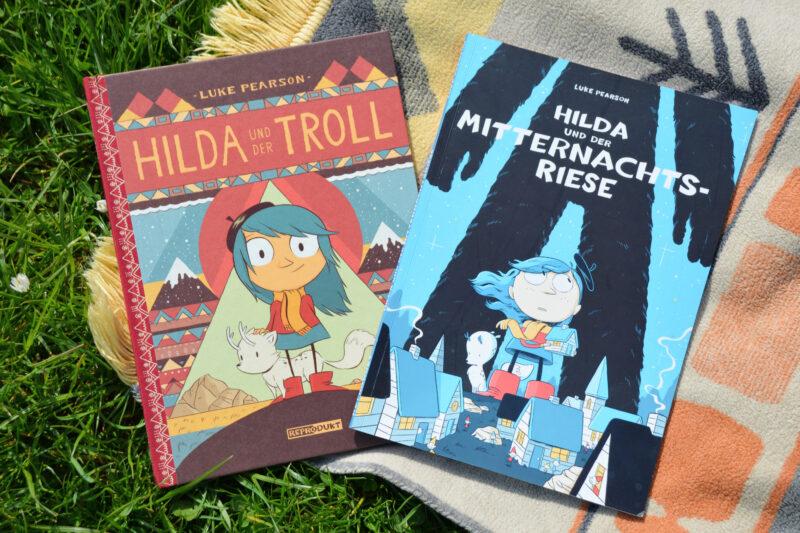 Comics für starke Kinder: Hilda und der Troll + Hilda und der Mitternachtsriese + Verlosung