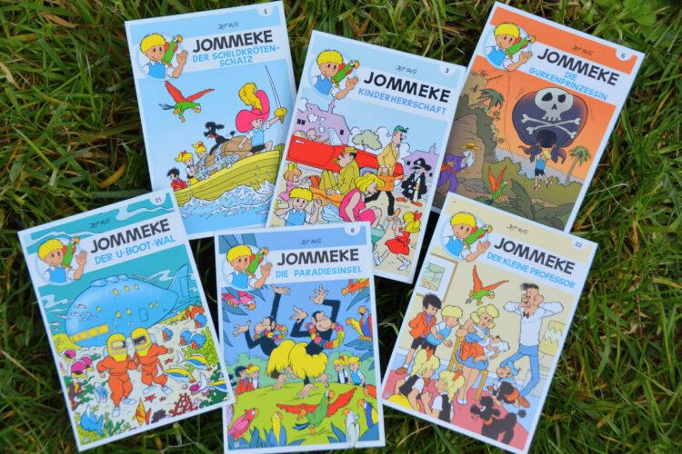 JOMMEKE Kindercomic Belgien