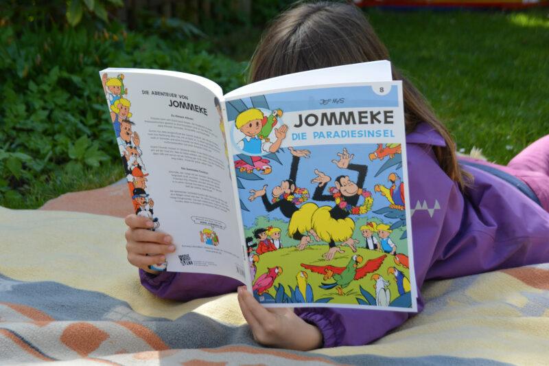 Gratis Comic Tag 2021: JOMMEKE – Die Paradiesinsel + MEGAGEWINNSPIEL