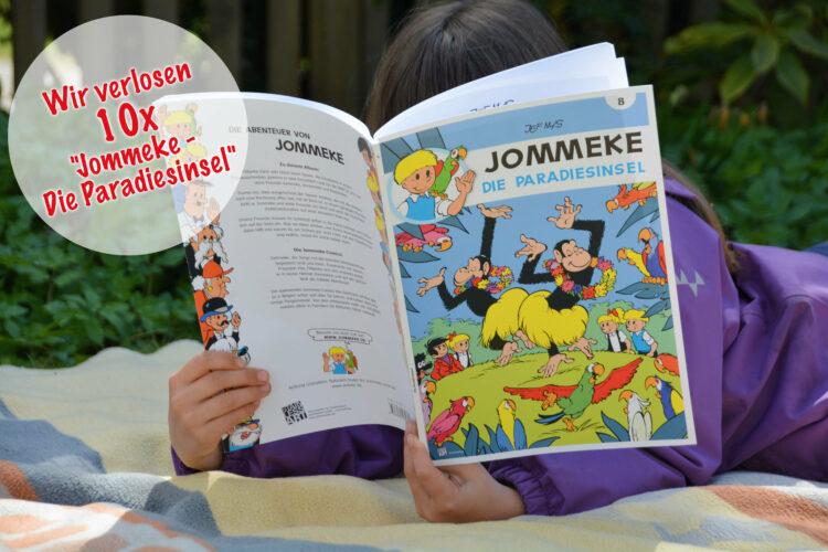 Gewinnspiel 10 Jommeke Kindercomics