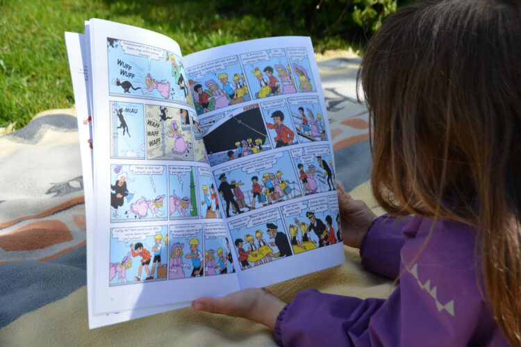 Comics für Kinder Jommeke