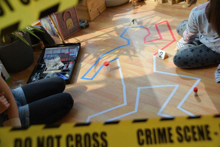 Kindergeburtstag Detektivfall