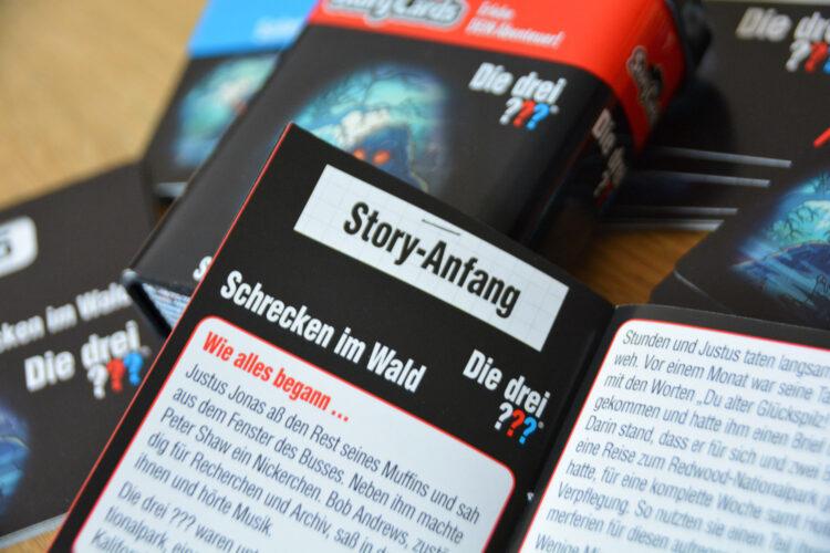 Story Cards Die drei Fragezeichen
