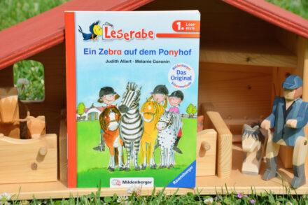 Lesen lernen mit der Mildenberger Silbenmethode: Ein Zebra auf dem Ponyhof