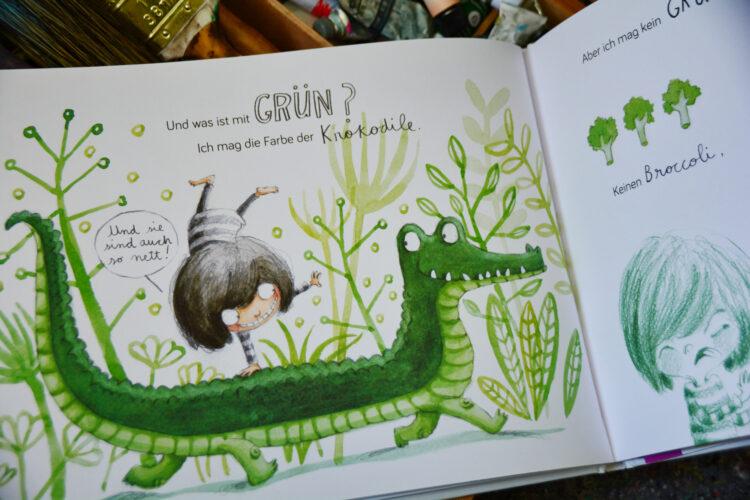 Welche Farbe hat ein Kuss? Kinderbuch