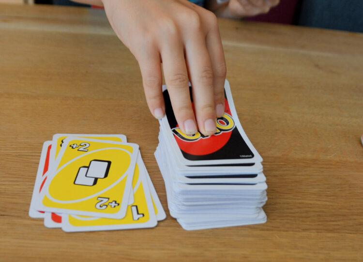 Spielkarten nachziehen