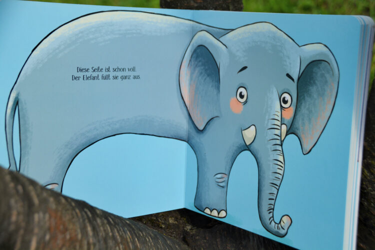 Tierisch voll Elefant
