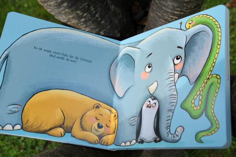 Lücken Elefant Bilderbuch