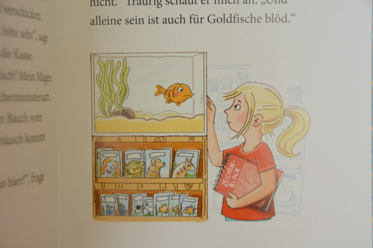 Goldfisch Fridolin