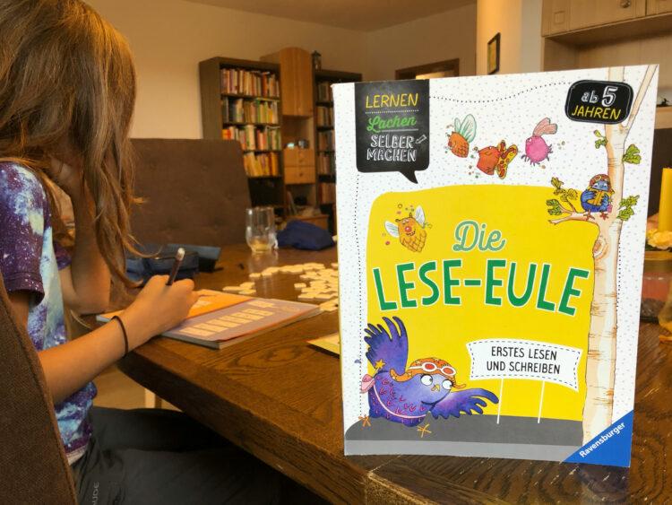 Die Lese-Eule Lernheft Vorschulkind