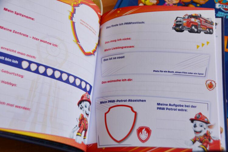 PAW Patrol Freundebuch